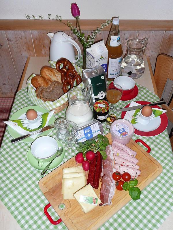 Ammergauer Alpen Frühstück